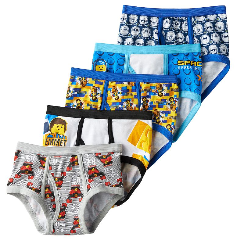 Boys 8-20 The LEGO Movie 5-Pack Briefs