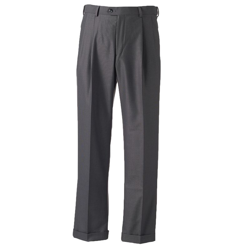 Men's Croft & Barrow® Classic-Fit Easy-Care Flat-Front Comfort Dress Pants