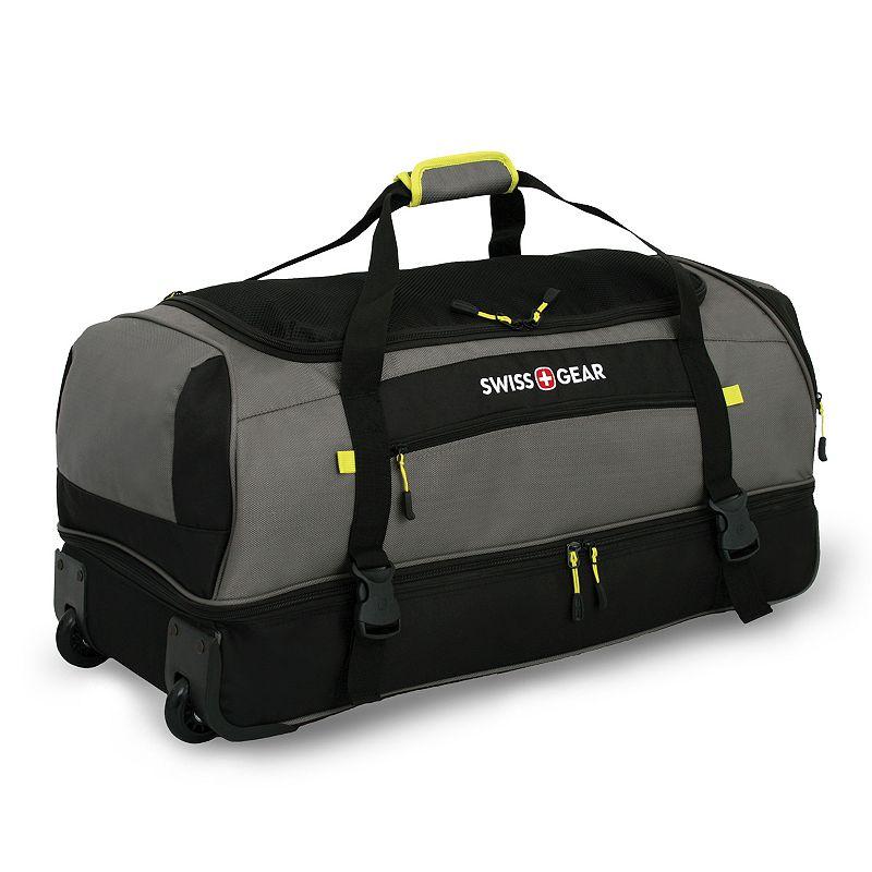 Swiss Gear Sierra II 28-Inch Wheeled Drop-Bottom Duffel Bag