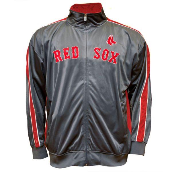 Big & Tall Boston Red Sox Tricot Track Jacket