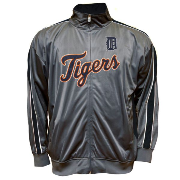 Big & Tall Detroit Tigers Tricot Track Jacket