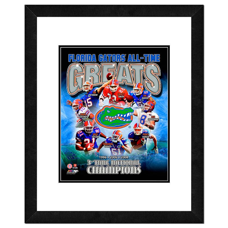 Florida Gators All-Time Greats Framed 11