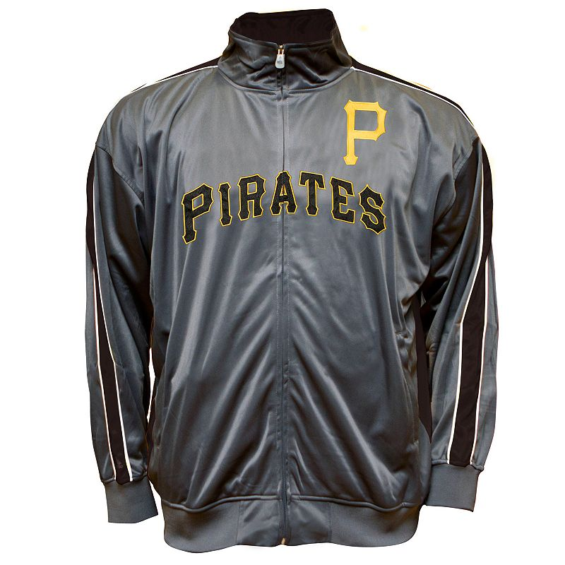 Big & Tall Pittsburgh Pirates Tricot Track Jacket