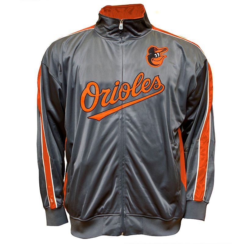 Big & Tall Baltimore Orioles Tricot Track Jacket