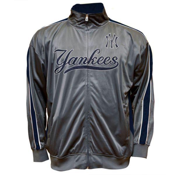 Big & Tall New York Yankees Tricot Track Jacket