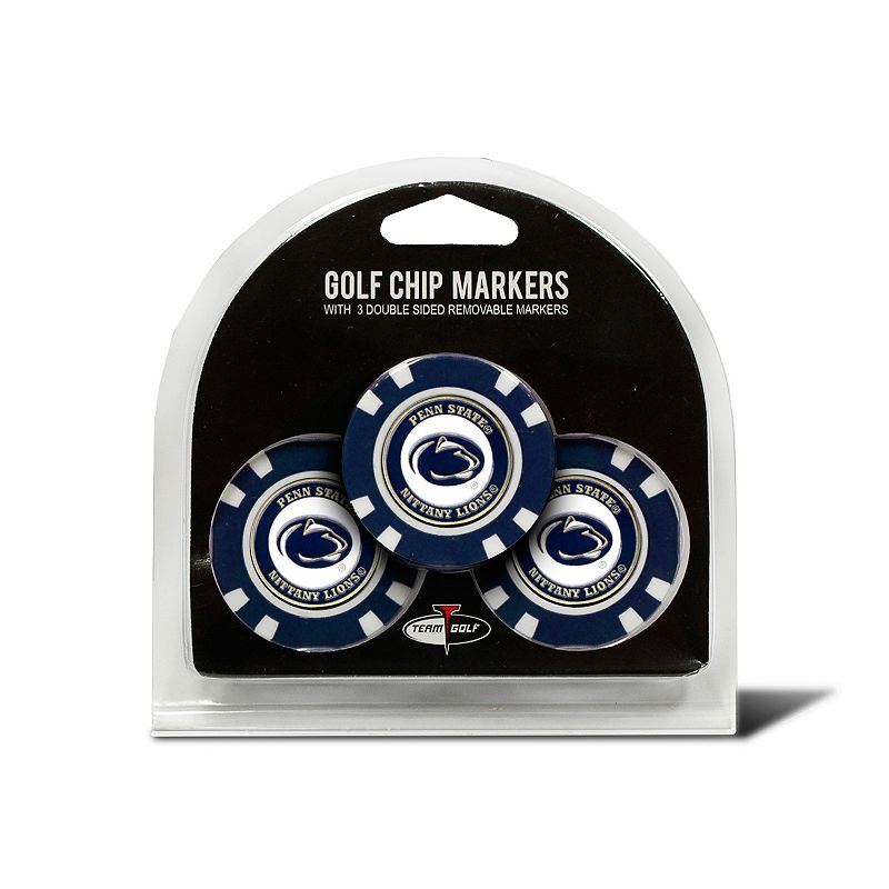 Team Golf Penn State Nittany Lions 3-pack Poker Chip Ball Markers