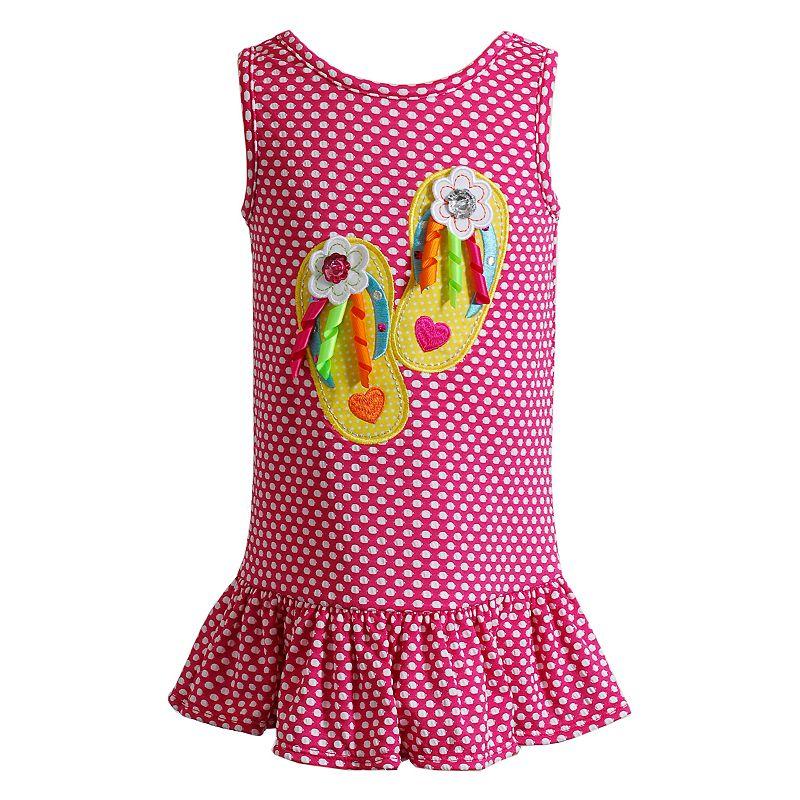 Girls 4-6x Youngland Flip-Flop Knit Dress