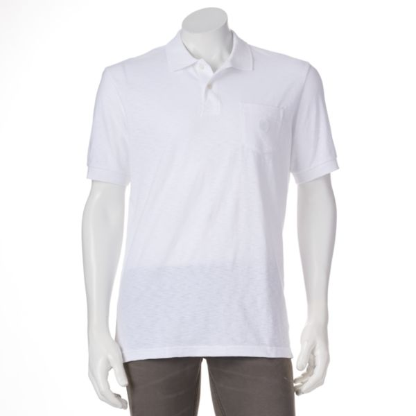 Men's Chaps Solid Polo