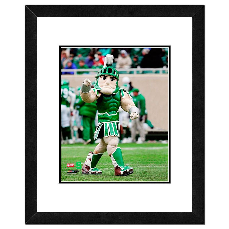 Michigan State Spartans Mascot Framed 11