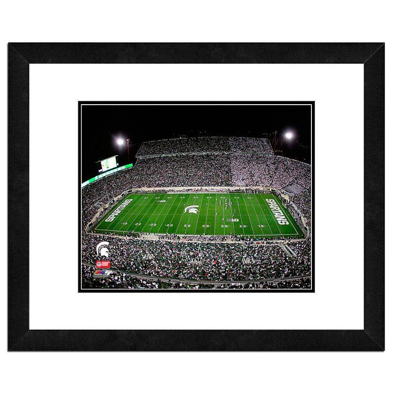 Michigan State Spartans Stadium Framed 11