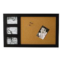 Melannco 3-Opening Corkboard Collage Frame