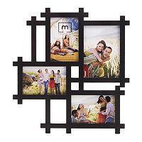 Melannco 4-Opening Lattice Collage Frame