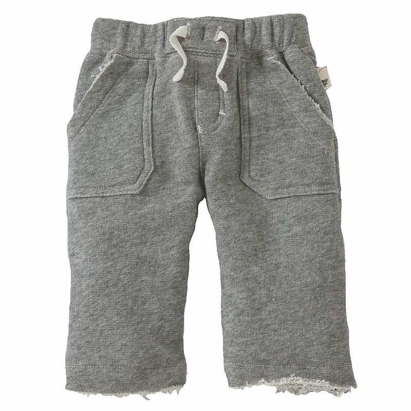 Toddler Burt's Bees Baby Organic Raw-Edge Terry Pants