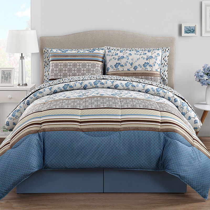 VCNY Delancey 10-pc. Reversible Bed Set