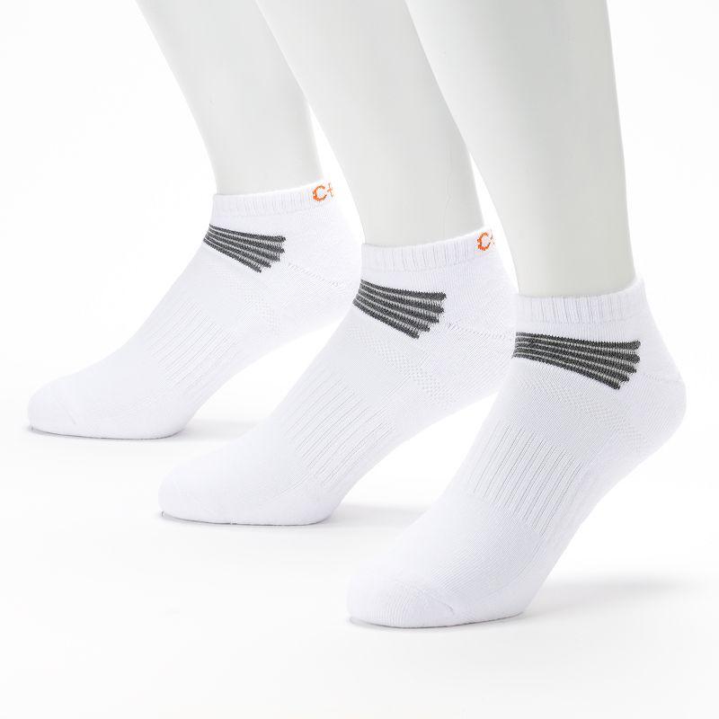 Men's C-BUK by Cutter & Buck 3-pk. Nassau Performance Athletic Low-Cut Liner Socks