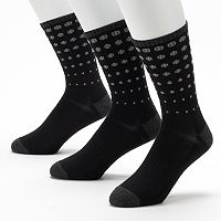 Men's C-BUK by Cutter & Buck 3-pk. Fairway Performance Athletic Crew Socks