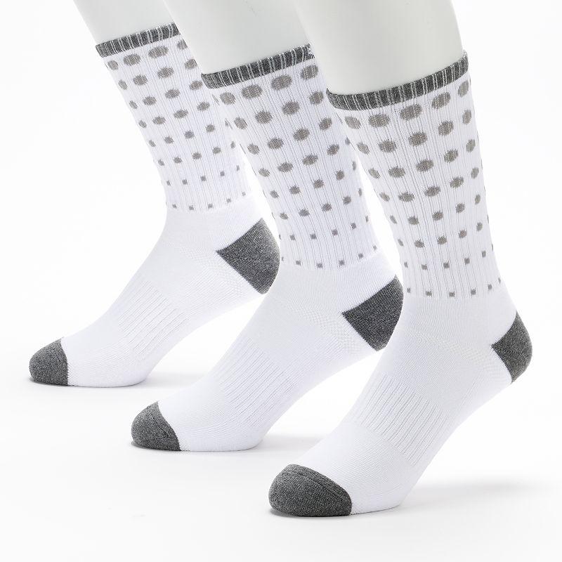 Men's C-BUK by Cutter & Buck 3-pk. Fairway Performance Athletic Crew Socks