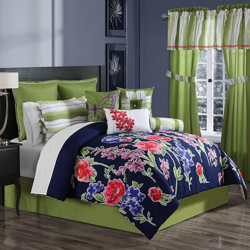 Nadia 10-pc. Comforter Set - Queen