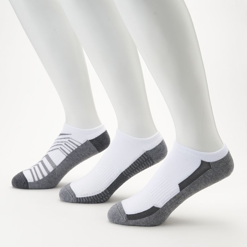 Men's Tek Gear® 3-Pack CoolTEK No-Show Socks