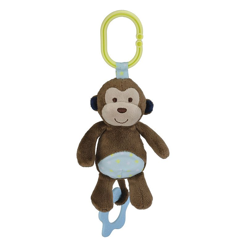 Carter's Chime & Chew Monkey Teething Toy