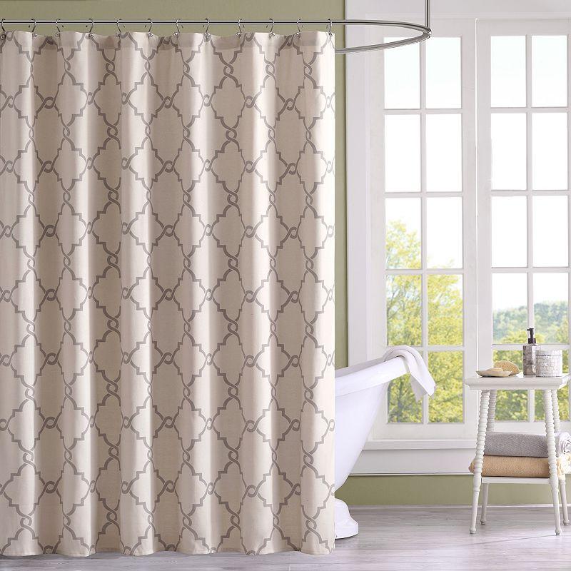 Madison Park Arroyo Fabric Shower Curtain