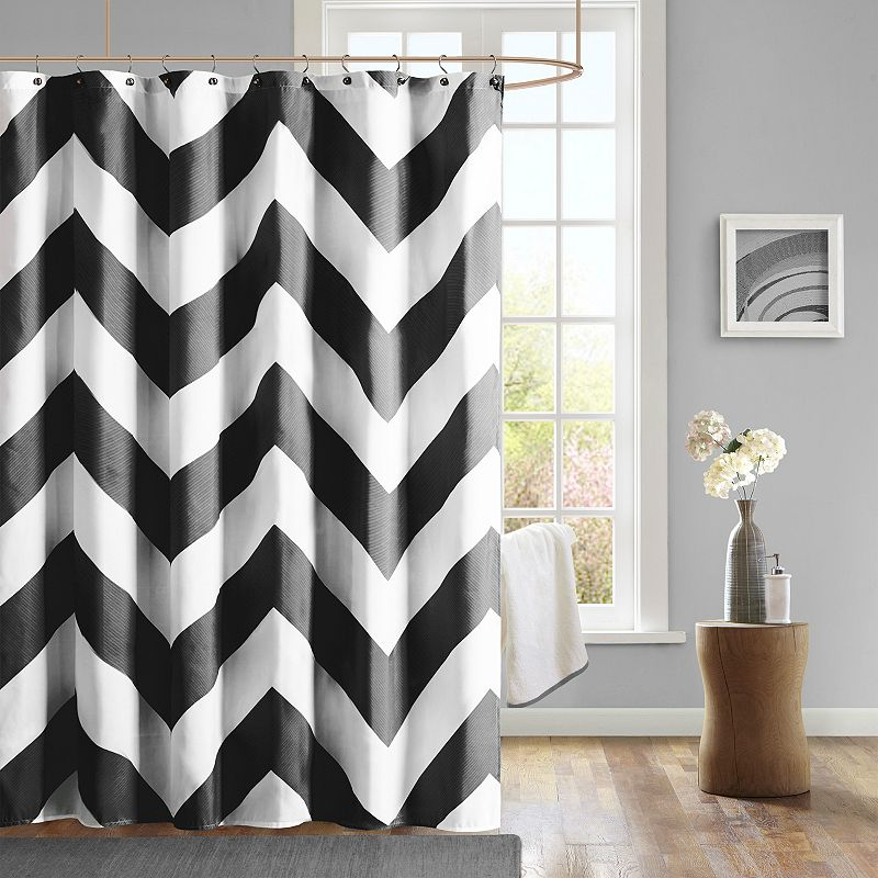 Mi Zone Pisces Fabric Shower Curtain