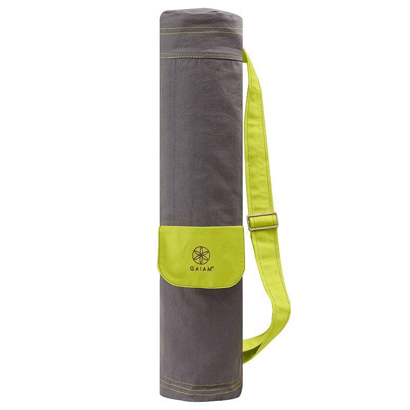 Gaiam Citron Storm Yoga Mat Bag