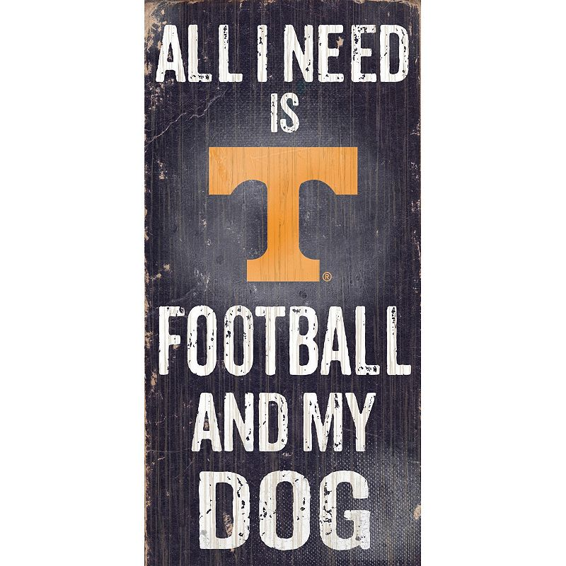 Tennessee Volunteers Football & My Dog Sign