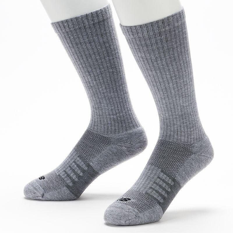 Men's New Balance 2-pk. Wellness Casual Walker Crew Socks
