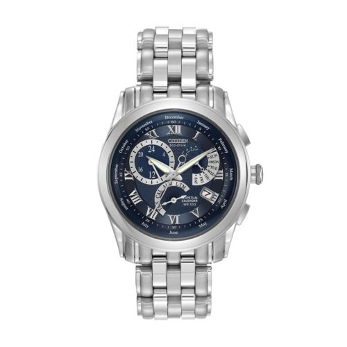 Citizen Eco-Drive Stainless Steel Perpetual Calendar Watch - BL8000-54L - Men
