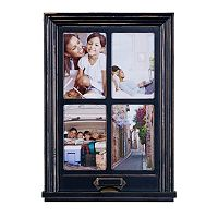 Melannco 4-Opening 4'' x 6'' Window Collage Frame