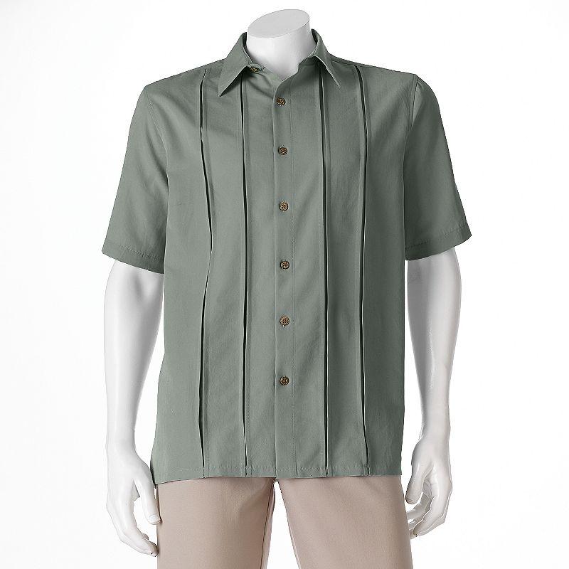 Batik bay blue button down shirt kohl 39 s for Men s batik bay silk blend button down shirt