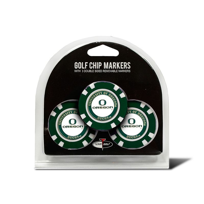 Team Golf Oregon Ducks 3-pack Poker Chip Ball Markers