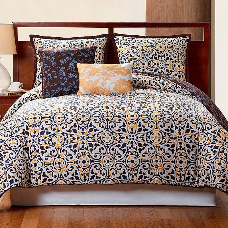 VCNY Sahara 4-pc. Reversible Comforter Set