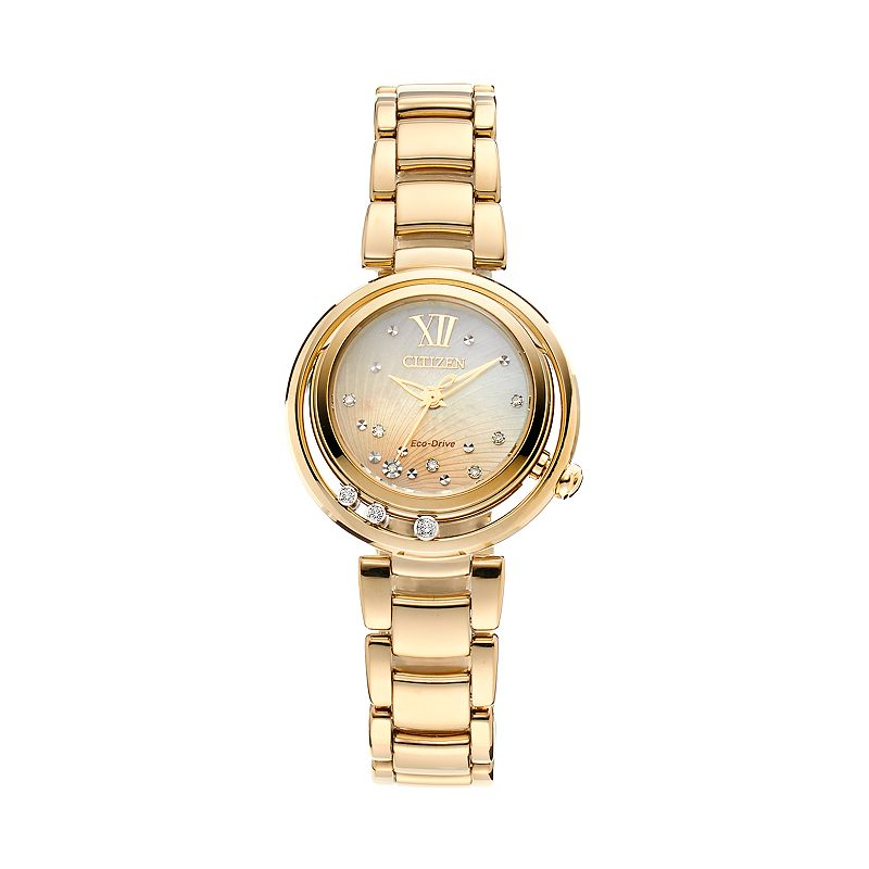 Citizen Eco-Drive Women's Sunrise Diamond Stainless Steel Watch