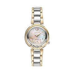 Citizen Eco-Drive Women's Sunrise Diamond Stainless Steel Watch