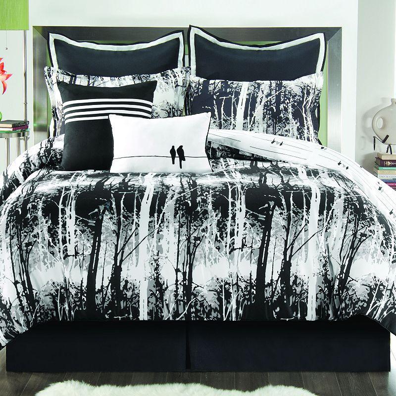 Sunset and Vines Woodland Reversible Comforter Set