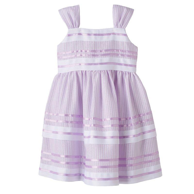 Bonnie Jean Striped Dress - Toddler Girl