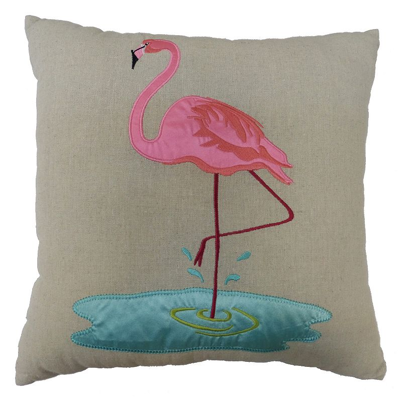Kohls Black Decorative Pillow : SONOMA life + style Flamingo Throw Pillow