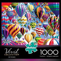 Buffalo Games 1000-pc. Vivid Collection Sky Roads Jigsaw Puzzle by