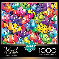 Buffalo Games 1000-pc. Vivid Collection Clown School Jigsaw Puzzle