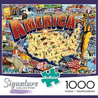 Buffalo Games 1000-pc. Signature Collection Vintage America Jigsaw Puzzle