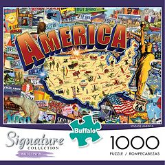 Buffalo Games 1000-pc. Signature Collection Vintage America Jigsaw Puzzle by