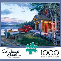 Buffalo Games 1000-pc. Darrell Bush Cabin Fever Jigsaw Puzzle by