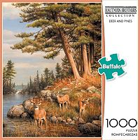 Buffalo Games 1000-pc. Hautman Brothers Collection Deer And Pines Jigsaw Puzzle