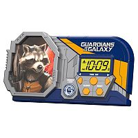 Marvel Guardians of the Galaxy Night Glow Alarm Clock