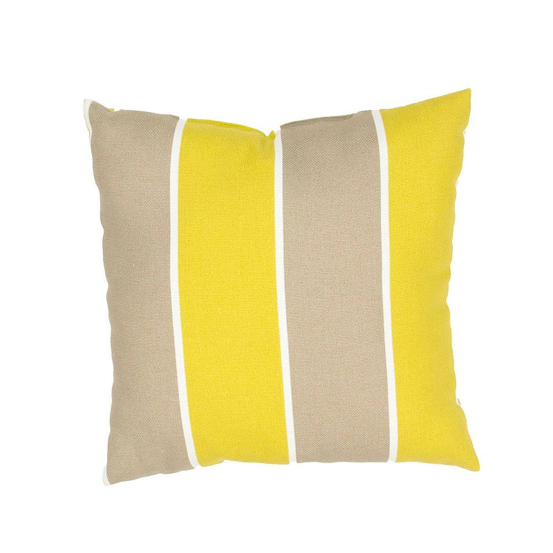 Kohls Yellow Throw Pillows : JAIPUR STRIPE THROW PILLOW (YELLOW)