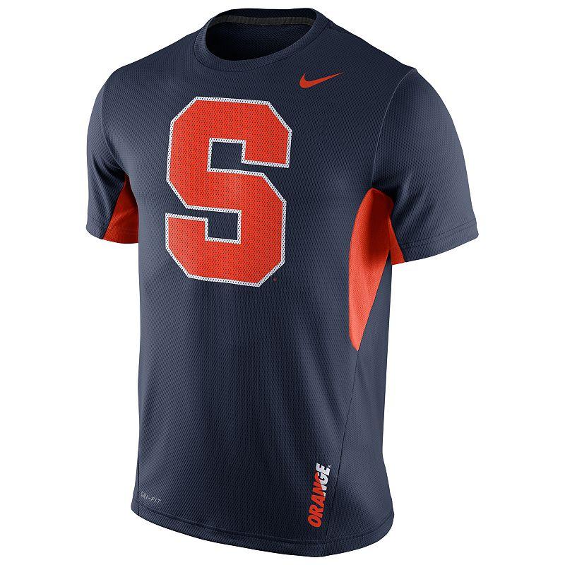 Men's Nike Syracuse Orange Vapor Dri-FIT Performance Tee