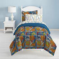 Dream Factory Dino Blocks Bed Set