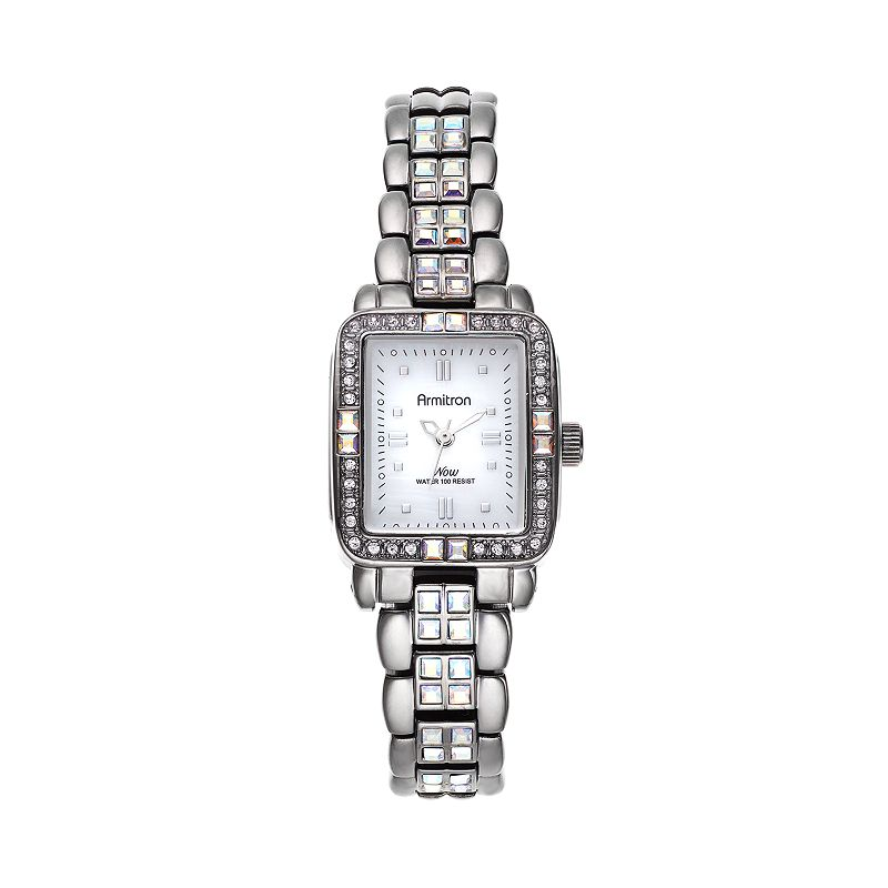 Armitron NOW Women's Crystal Watch - 75/5057MPDG